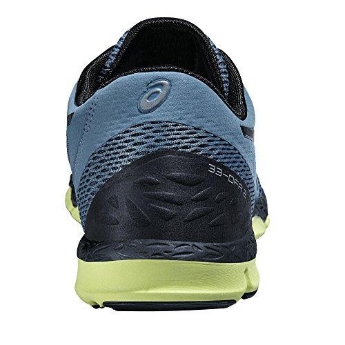 Asics 33-DFA 2 - Scarpe Running Uomo, Blu (Blue Mirage/Black/Flash Yellow 6290), 44 EU nero