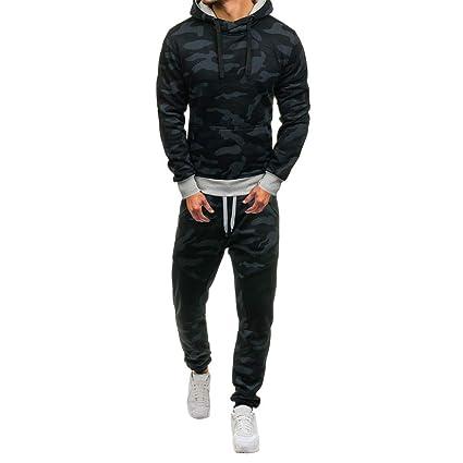 ... Camuflaje Sudaderas + Pantalones Chandal Sportswear Tracksuit Sudadera con Capucha Chaqueta Moto Jersey Ciclismo: Amazon.es: Ropa y accesorios
