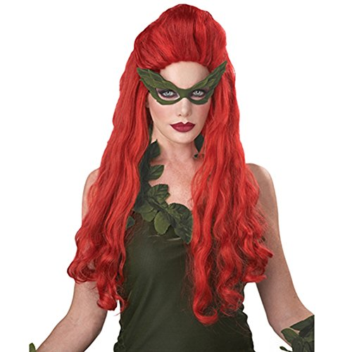 Poison Ivy Costumes Evolution - Lethal Beauty Wig Poison Ivy Sexy