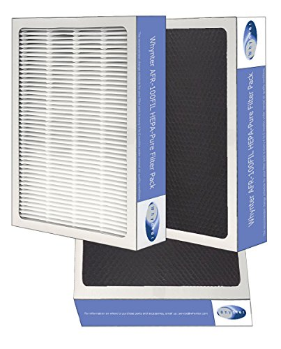 Price comparison product image Whynter AFR-425-FILTER Eco-Pure HEPA System Air Purifier and Activated Carbon Filter Replacement