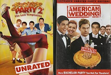 American Wedding Extended Edition Bachelor Party 2 Pack Collection Unrated