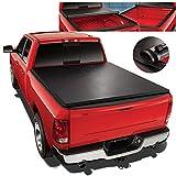 Roll-Up Vinyl Soft Tonneau Cover For 04-15 Nissan Titan 5.7 Ft Short Bed Fleetside Truck