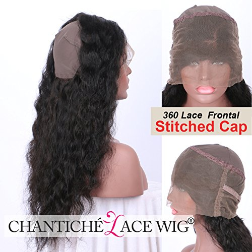 Chantiche Best Soft Curly 360 Frontal With Cap For Making Brazilian