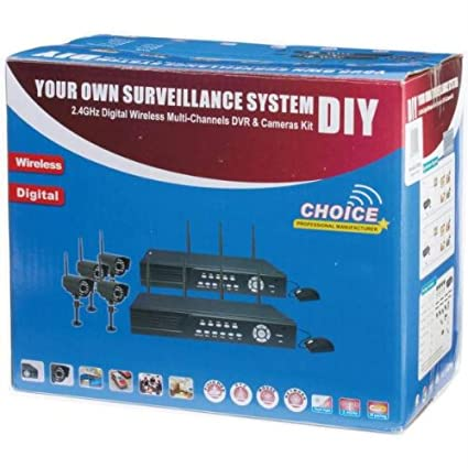 Amazon do it yourself 4 camera outdoor wireless security system do it yourself 4 camera outdoor wireless security system solutioingenieria Images