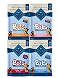 Blue Pack of 4 Buffalo Treats Bits Dog Treats Pouches, 4 Flavors (Savory Salmon, Tasty Chicken, Tender Beef and Tempting Turkey), 4 oz., Blue Larger Image