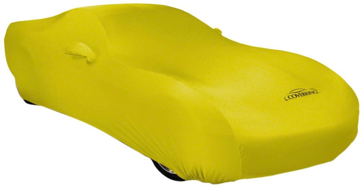 CVC2SS98VW7194 Gray Satin Stretch Coverking Custom Fit Car Cover for Select Volkswagen GTI Models