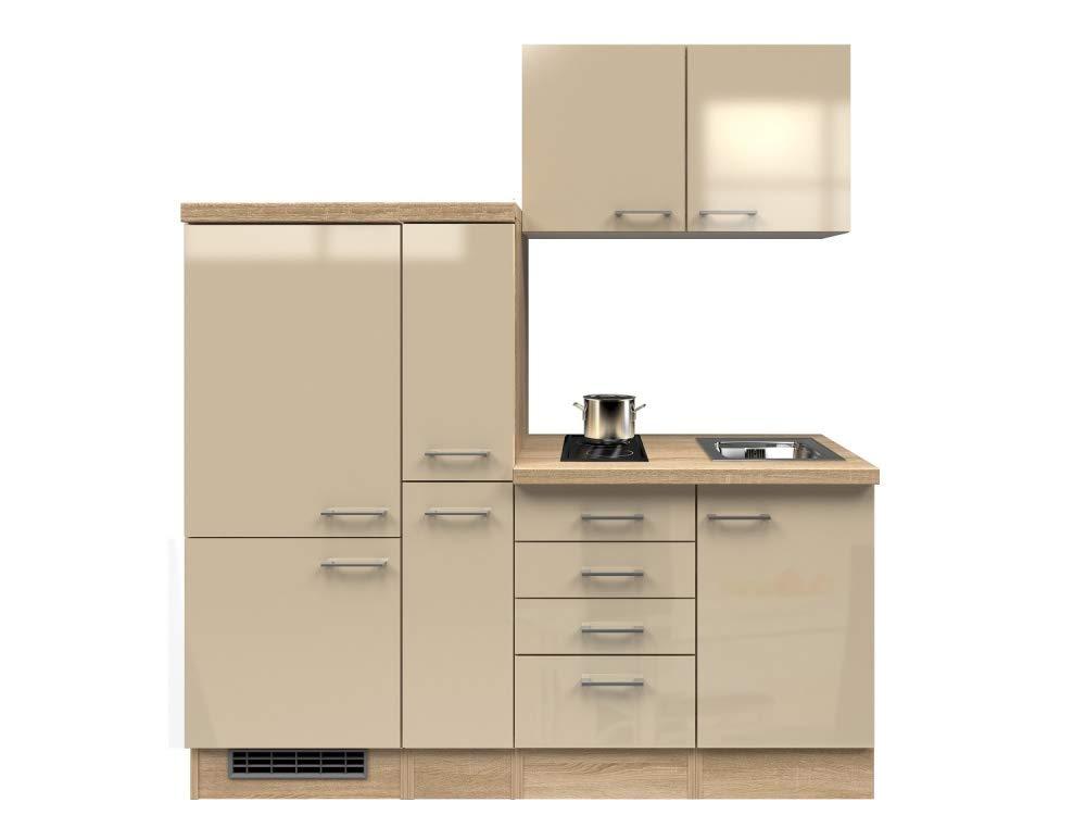 Smart Möbel - Bloque de Cocina (190 cm, Madera de Roble Sonoma ...