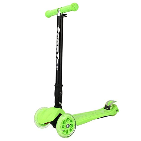 Amazon.com: Yunfeng Children Scooter Folding Pedal Car Flash ...