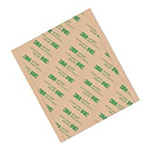 """TapeCase High Performance Adhesive Transfer Tape, Converted from 3M 467MP, 8"""" x 10.5"""" Rectangles (Pack of 25)"""