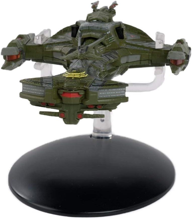 Nave insignia Klingon de clase Bortasqu Star Trek Eaglemoss Collections