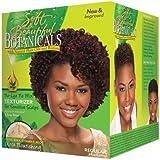 Soft & Beautiful Kit Défrisant sans Mélange et sans Soude pour Cuirs Chevelus Sensibles Cheveux Normaux Botanicals