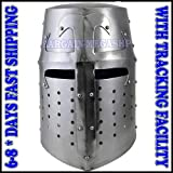 QUALITYMUSICSHOP New Game of Thrown Knight Helmet Knights Templar Helmet Knight Helmet Hat