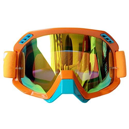 esquí de Polvo ya a Prueba de F PC explosiones Prueba Impermeables de esquí Lentes Color Ciclismo Gafas Fondo de 5FA0wq