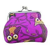 #2: Hot Sale! Clearance! Women Wallets,Todaies Womens Owl Wallet Card Holder Coin Purse Clutch Handbag (97cm/3.52.8