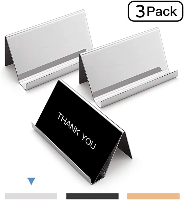 The Best Desktop Business Card Holder Set