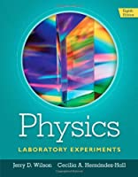 Physics Laboratory Experiments, 8th Edition