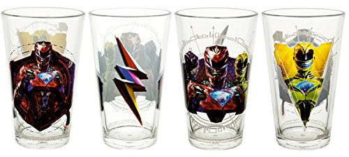 Zak Designs 16oz Glass Tumbler Set of 4 - Power -