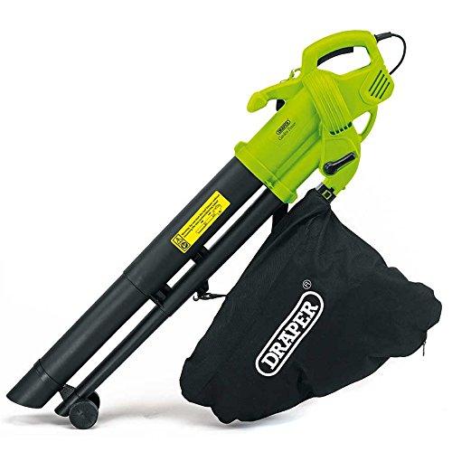 Draper 3000W 3 in 1 Garden Vacuum, Leaf Blower and Shredder Mulcher with...