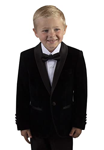 Tuxgear Boys Slim Fit Shawl Velvet Dinner Jacket