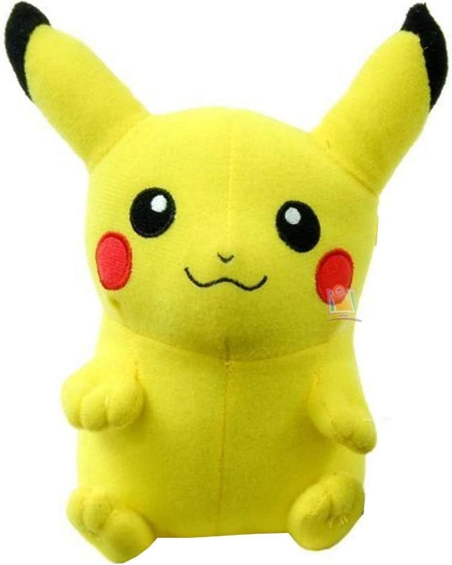 Amazon Com Toy Factory Pokemon Pikachu 9 Plush Stuffed Toy Video