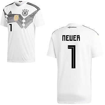 Adidas Camiseta de la selección alemana de fútbol, primera equipación, modelo del mundial de