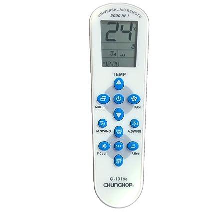 CHUNGHOP Mando de Aire Acondicionado Universal - 5000 en 1