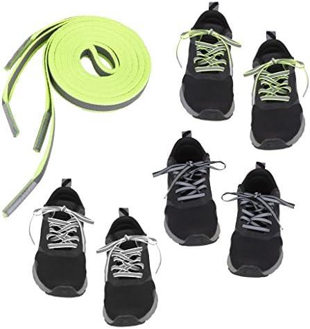 反射ロープ 靴ひも 靴紐 シューレース 反射 くつひも スニーカー シューレース 1ペア入り