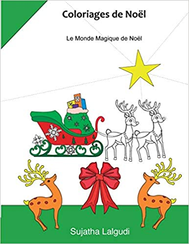 Amazon Com Coloriages De Noel Livre De Coloriage Anti