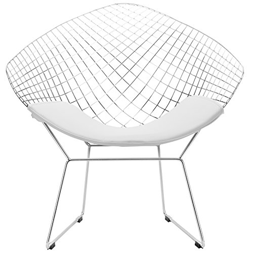 Sensational Poly And Bark Morph Lounge Chair In White Bralicious Painted Fabric Chair Ideas Braliciousco