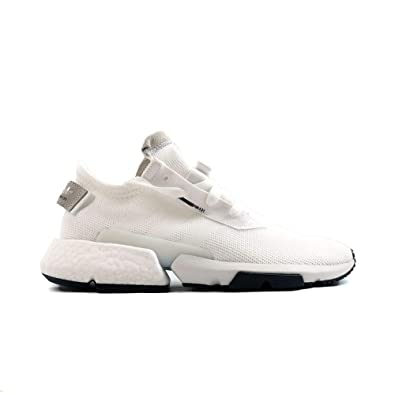 check out e1274 61844 adidas Mens POD-S3.1 White White Black - B37367 (7.5