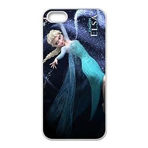 [bestdisigncase] For Apple Iphone 5 5S -Frozen - Let's it go PHONE CASE 16
