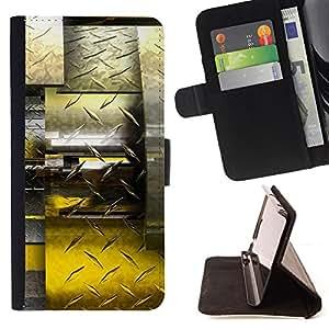 Jordan Colourful Shop - Abstract Diamond Steel For Samsung Galaxy Core Prime - < Leather Case Absorci????n cubierta de la caja de alto impacto > -