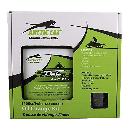 Arctic Cat 4 Stroke 1100cc Snowmobile Oil Change Kit OEM 6639-528 (Snowmobile Cat Arctic Parts)