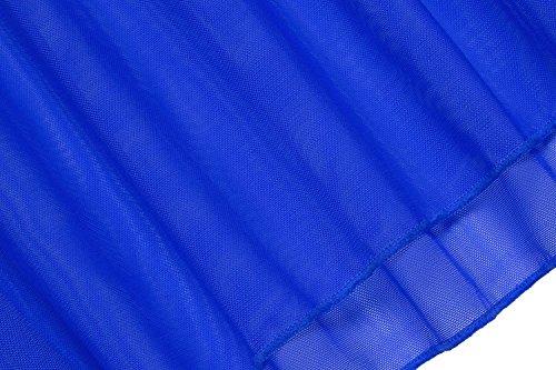 Halter Set Mini Encaje Ropa de string Patchwork Lady Azul de Noche Cuello Bordado begorey de de Vestido G qPxF0wOwn