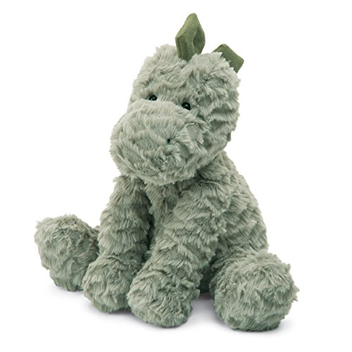 Jellycat Fuddlewuddle Dinosaur Stuffed Animal, Medium, for sale  Delivered anywhere in USA