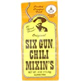 Six Gun Chili Mixin's, 4-Ounce