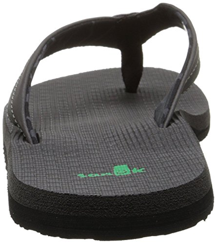 Light Cozy Sanuk Schwarz Zehentrenner Beer 4R4qOt