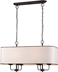 World Imports Lighting 3455-29 Colonial 6-Light Island Pendant