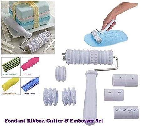 fondant ribbon cutter roller embosser cake decorating by misterchef
