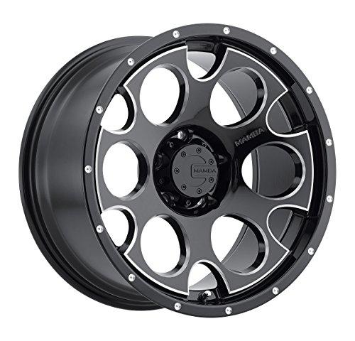 "Mamba M17 Gloss Black Wheel with Milling (16x8""/5x114.3mm..."