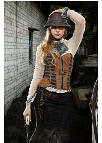 Steampunk Womens Blouse