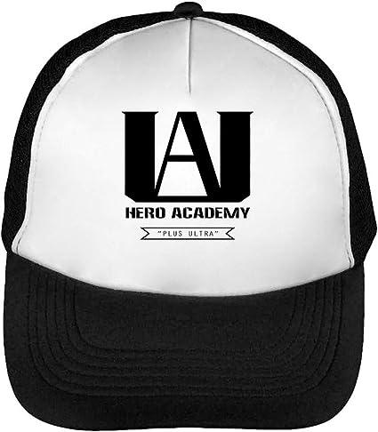 U.A. High Plus Ultra My Hero Academia Logo Gorras Hombre Snapback ...