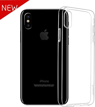 Tonv Slim Anti-slip Clear Case for Apple iPhone X