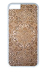 The Ancient Carving Decorative Pattern Slim Soft Cover for iPhone 6 Plus Case ( 5.5 inch ) PC White Cases