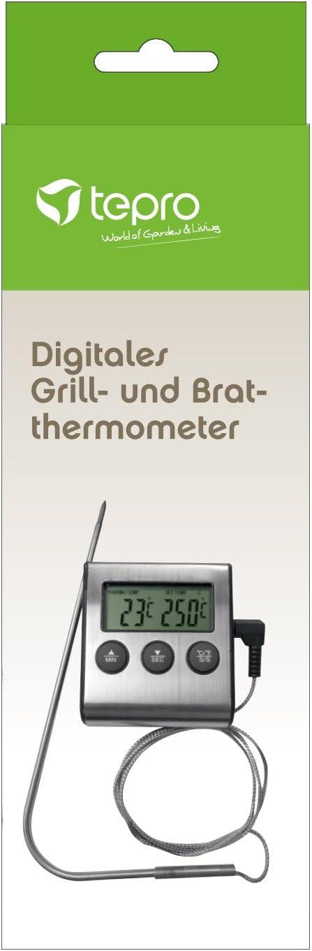 Tepro Grillzubehör Grillthermometer Bratthermometer Bratenthermometer