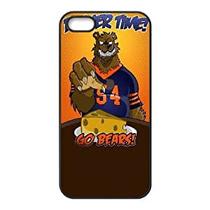 iPhone 5 5s Black Cell Phone Case Chicago Bears NFL Phone Case Cover Durable DIY NLYSJHA2487