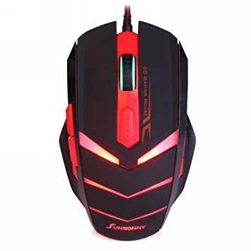 red gaming mice