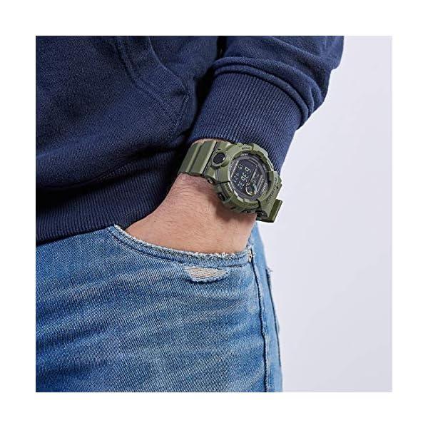 Casio Reloj Digital para Hombre con Correa en Resina 5