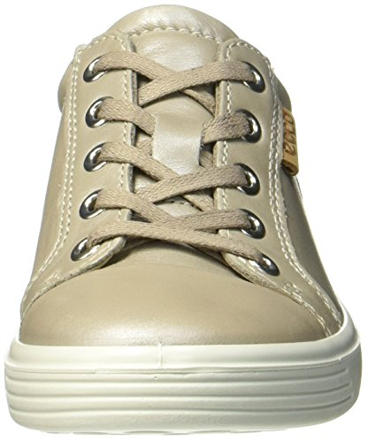Ecco Mädchen S7 Teen Sneaker Grau (Moon Rock/Whisky)