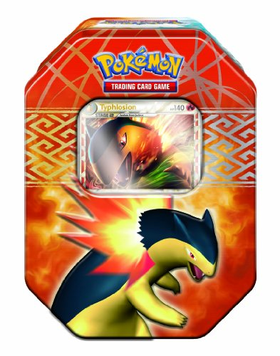 Pokemon Trading Card Game:  HeartGold and SoulSilver Collector's Tin - Typhlosion